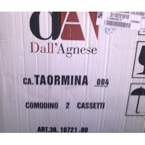 Кровать и тумбочки Taormina  Dall'Agnese